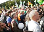 Eine bunte Demonstration
